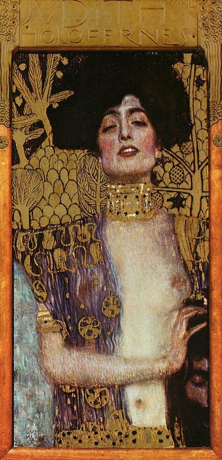 Gustav Klimt, Giuditta I, 1901, Vienna  Österreichische Galerie